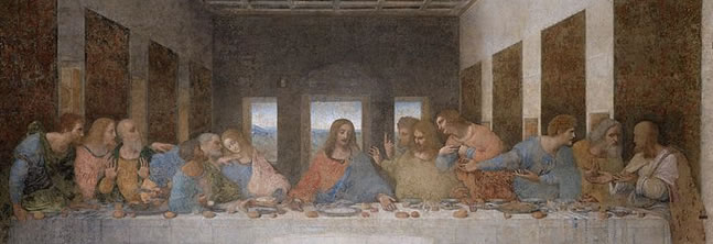 A day in the life of Leonardo: the Last Supper and the Sforza Castle